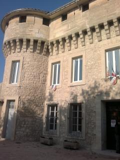 La Mairie is part of a historical forteress
