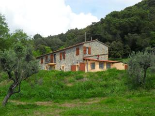 5 bedroom cottage in rural Tuscany with sea view,, Riparbella
