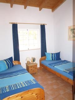 Sleeping Room with two Single Beds