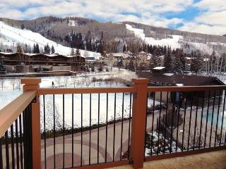 Great views of the mountains. A Penthouse vacation condo at Manor Vail Lodge