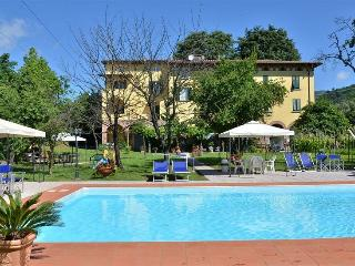 Comfortable Tuscan Villa near Lucca, features private terrace, swimming pool and secure parking