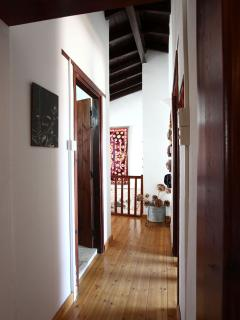 Upstairs hall leading to the three bedrooms