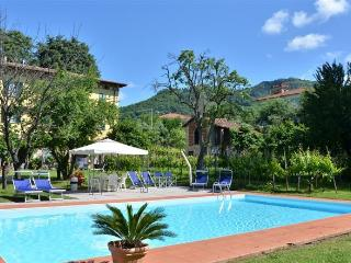 2 bedroom apartment in classic Tuscan villa, shared pool, private garden, wi-fi available, Ponte a Moriano
