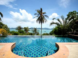 Spectacular sea views, luxury villa near beach 6B, Cape Panwa