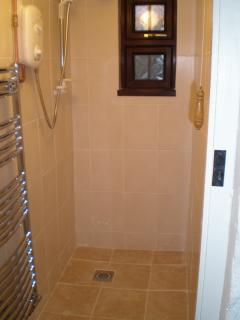 Wet room - downstairs