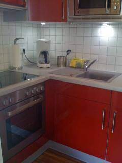 My lovely red kitchen