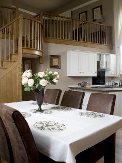 The Chapel Suite Kitchen/Dining Area