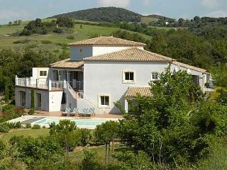 Villa with heated pool near Carcassonne, Languedoc, Montclar