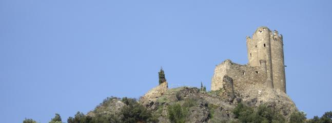 Only a short drive from the Maison - the spectacular Cathar castles of Lastours