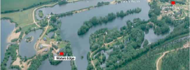 Position of Waters Edge within the 285 acre parkland