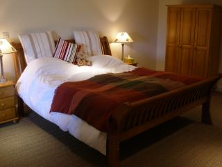 Wooden Sleigh Six Foot Bed - Read the comments to find out how comfortable the bed is