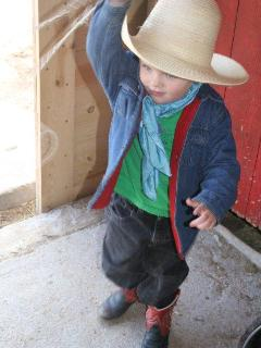 Little ones love experiencing the West.