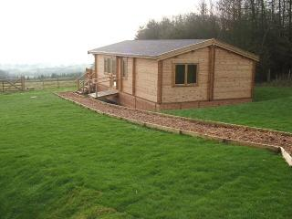 Poppy lodge spacious modern  log cabin, Westbury