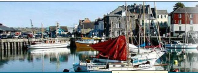 padstow harbour approx 2 miles from our site, one of the most visited places in the uk