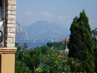 Breathtaking lake view in town, Malcesine