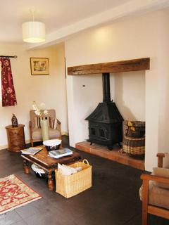 A real 'home from home' with Log fire