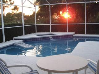 Relax in this beautiful south west facing pool and spa