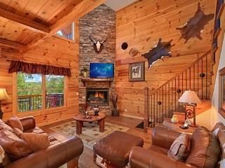 Gorgeous! Luxurious Cabin 3/3 With Mountain Views, Pigeon Forge