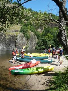 River Allier Canoe/Kayak, canoes can be hired at various placed along river.