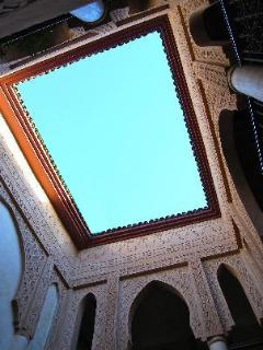 Riad Laksiba - Open-Air Courtyard