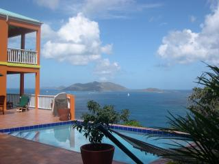 Stunning Villa Most Desireable Location on Tortola - British Virgin Islands vacation rentals