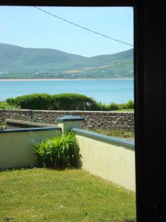 Sea View from sitting room, of smerwick harbour