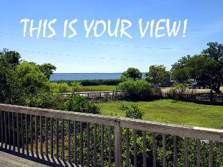 View from back deck of Albemarle Sound!