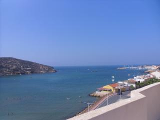 view from communal roof terrace