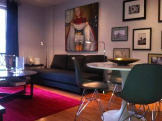 MontreaL-Centre ville Est- 3 bedrooms Apartment with a private garden (2232), Montreal