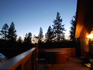 Milo Bear Cabin - Ski views, spa, dogs welcome, Big Bear Region