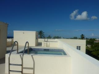 Ocean view apartment with rooftop pools, Christ Church Parish