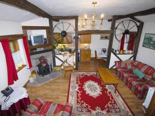 Ash cottage at Pentre farm Usk Country Cottages