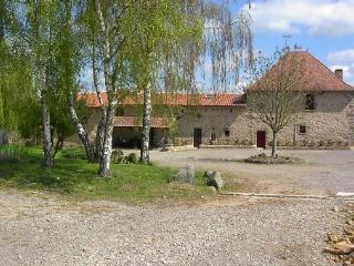 Le Logis - Rustic and spacious house with pool, Confolens