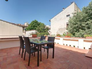 Smart apartment in old city centre of Florence feturing spacious terrace, Florencia
