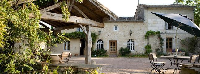 French Stone Cottage with Garden Veranda and Terrace