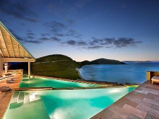 Private villa sleeps 10 sea view, Virgin Gorda