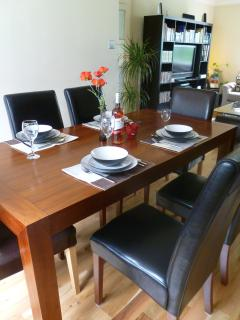 Large Dining Table Six Sitting