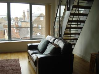 Loft apartment Popeshead Court York city centre