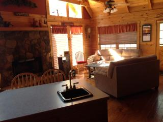 Log home we converted to bed & breakfast, Pine