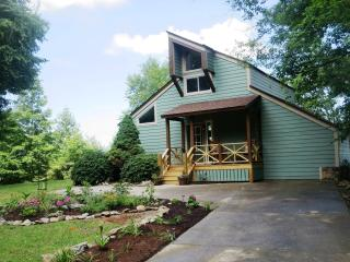 Mountain Vista Retreat...sleeps 6, expansive views, Hendersonville