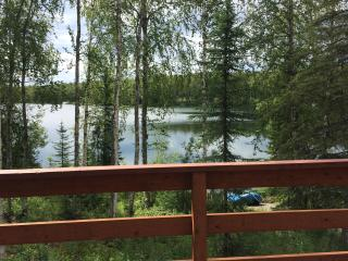 Cabin on Quiet Lake in Willow Alaska
