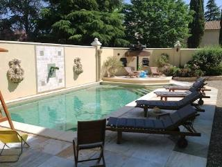 South of France villa Thezan Les Beziers