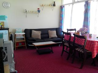 Self catering holiday chalet, Carrossage