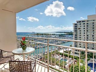 Ocean View Ilikai Condo with Full Kitchen and Tons of Amenities, Honolulu