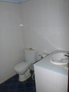 Small Bathroom with Hot Shower