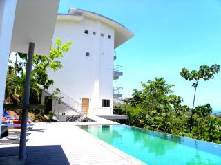 The raccoon for 2 guests with pool and ocean view, Manuel Antonio National Park