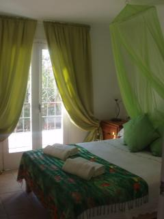 Villa  bedroom 2 with king size bed