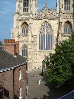 A view to savour - York Minster from The Music House Apartment