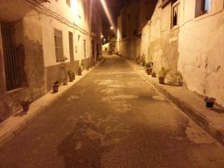 Traditional Spanish streets of Formentera
