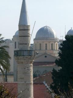 The old city of Limassol is a mixture of cultures.